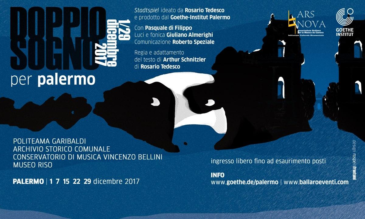 """""""Doppio Sogno per Palermo"""": dicembre 2017"""