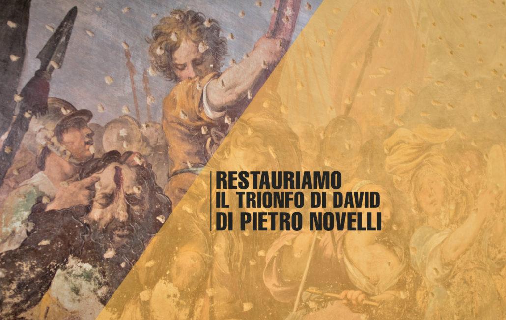 Restauriamo il trionfo di David di Pietro Novelli